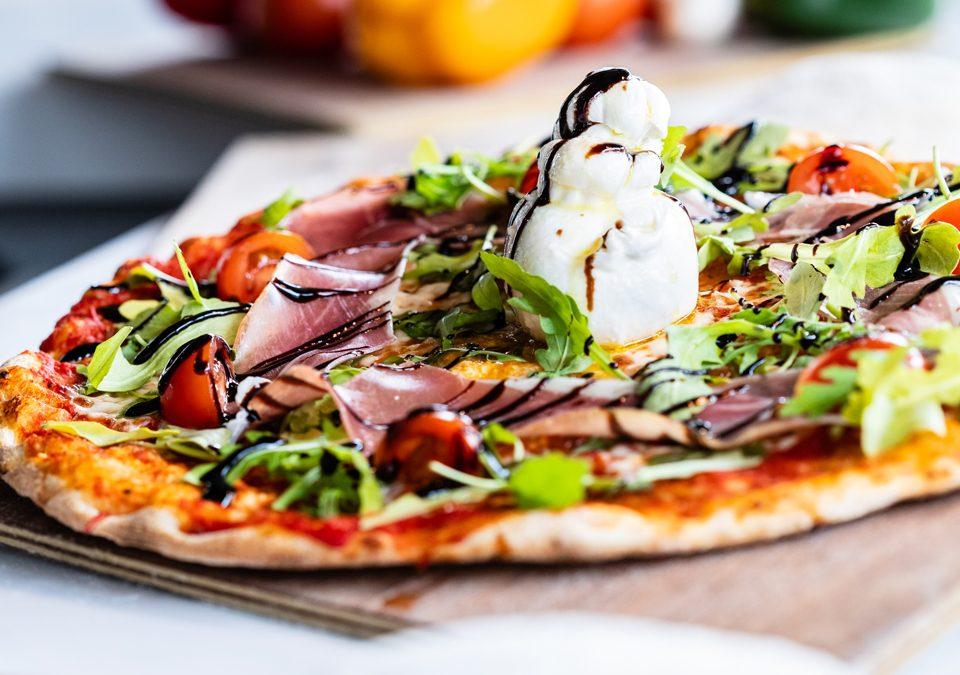 Pizza Burrata - Pizza des Deux Rives - Neudorf et Port du Rhin