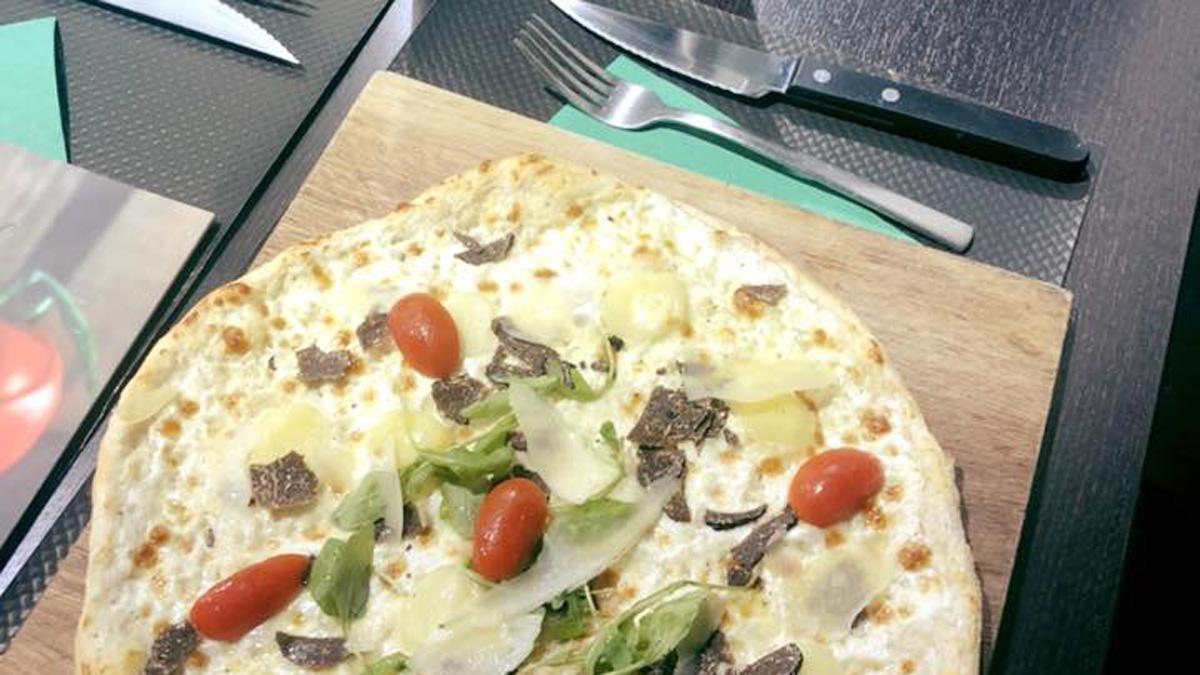 Pizza à la truffe - Pizza des Deux Rives - Neudorf et Port du Rhin